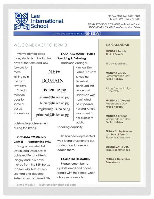 LIS Newsletter 160718_1